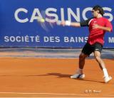 Accelération du coup droit de Roger Federer
