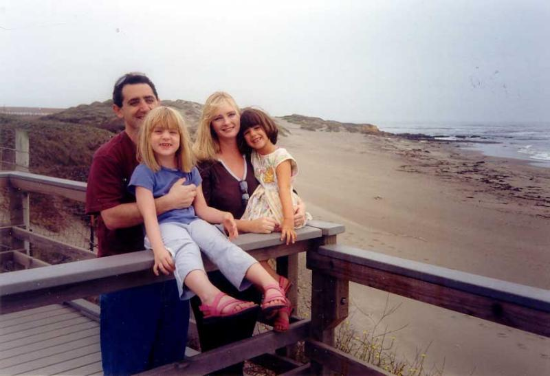 Rafi, Michelle and kids -2004