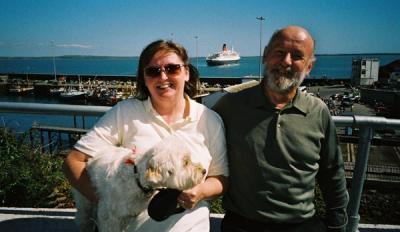 Roy&Carol visit DummoreHarbour-Summer-04