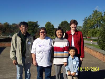 Ruija Mu, Yvonne, Meiying, Marina,and Jr.