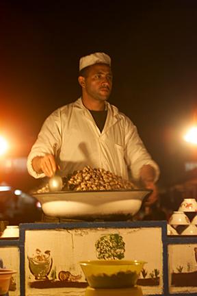 Snails at Djemma el-Fna