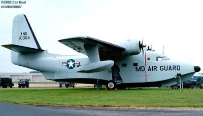 Maryland Air National Guard Grumman Albatross SA-16 military aviation stock photo