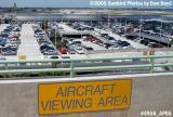 Public aircraft viewing area at Flamingo Garage, Ft. Lauderdale-Hollywood International Airport aviation stock photo #4958