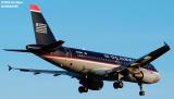US Airways A319-112 N705US aviation stock photo