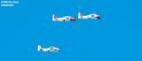 Warbirds aviation air show stock photo