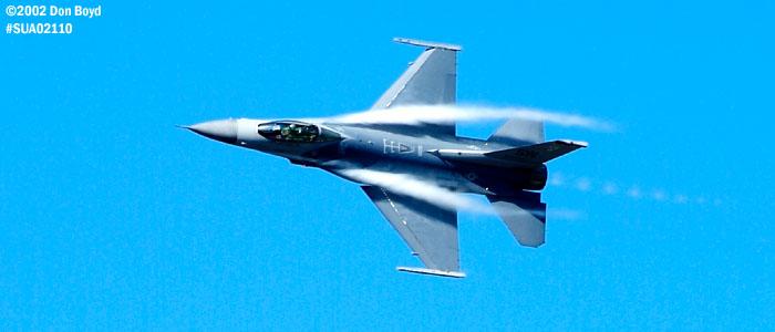 USAF F-16C-Block 50D AF91-0365 military aviation air show stock photo #SUA02110