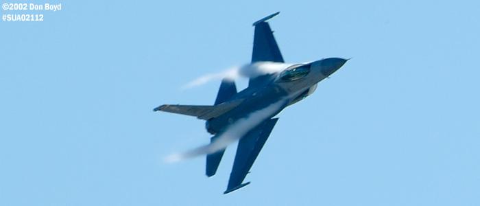 USAF F-16C-Block 50D AF91-0365 military aviation air show stock photo #SUA02113