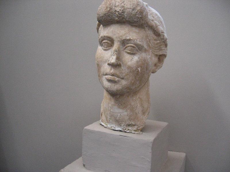 Livia, per plaque.  &nbsp;Tiberius mother<br>and Augustus wife