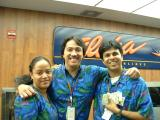 Aloha from OAKTR Front Counter Mae, Miguel & Shanif