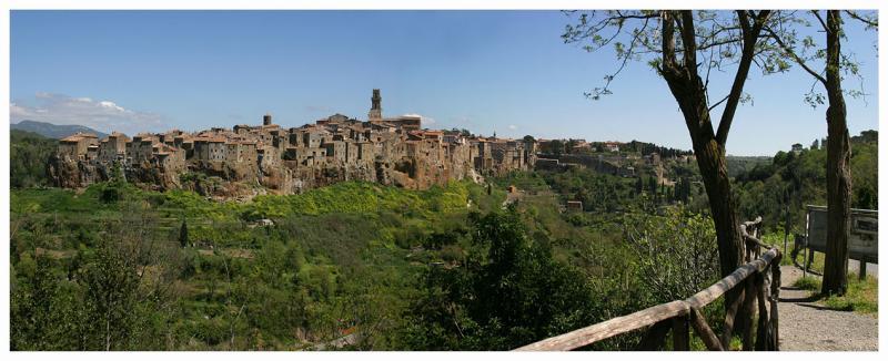 Italy,Tuscany,Pitigliano