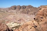 Jebel Haroun, the Biblical Mount Hor, where Moses's brother Aaron is said to be buried