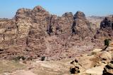 View of downtown Petra from the High Place of Sacrifice