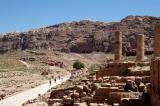 Petra Great Temple to Royal Tombs