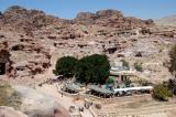 There are 2 restaurants in the center of Petra