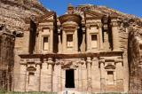 The Monestary built as a Nabataean temple