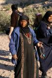 Bedouin woman in Petra