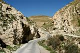 The road to Al-Shobak Castle