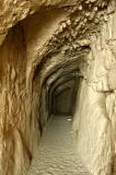 Passage below the ruined church