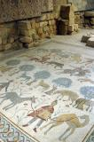 Mosaic in the Moses Memorial Church, Mt. Nebo
