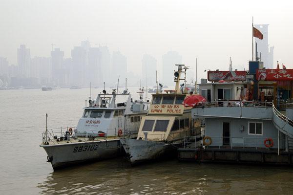 China Police riverboats, Shanghai
