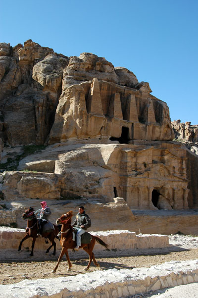 Riders and the Obelisk Tomb, 1st C. BC