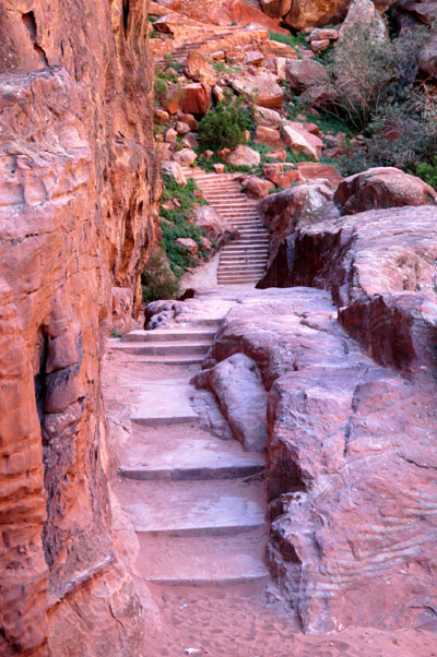 Steps to the High Place of Sacrifice
