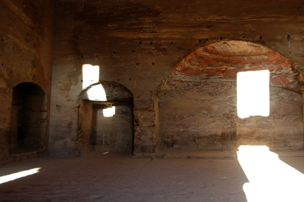 Inside the Urn Tomb, Petra