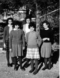 Early Resident-Students - Georgette, Renae, Marlene, Nadia and Henriette