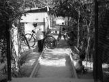 no train, so bikes