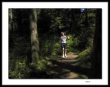 Trail running with water bottle and camera ( or from the ridiculous to the sublime !  :o) )
