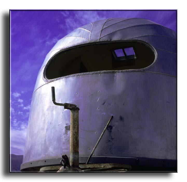 Abandoned Airstream