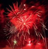 Les Nuits de Feu 2004 au château de Chantilly - Fireworks at Chantilly castle