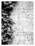 Headstone, Pere Lachaise