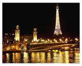 Eiffel and Pont Alexandre III