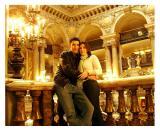 Tim and Della Palais Garnier