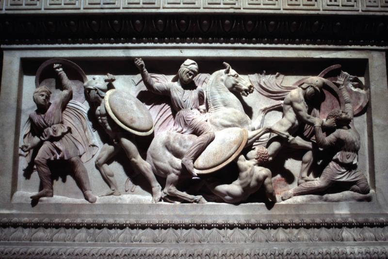 Alexander Sarcophagus battle