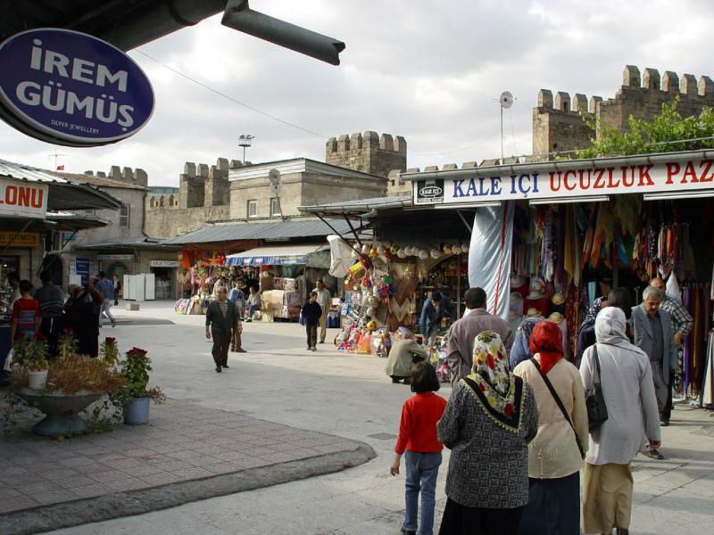 Kayseri at city walls 2555