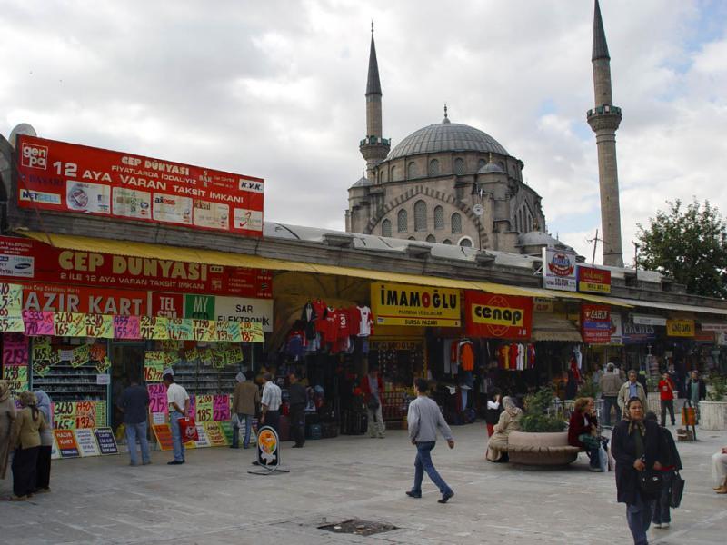 Kayseri at city walls 2559