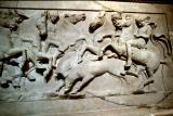 Lycian Sarcophagus boar hunt