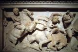 Alexander Sarcophagus battle scene detail