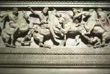 Alexander Sarcophagus lion hunt