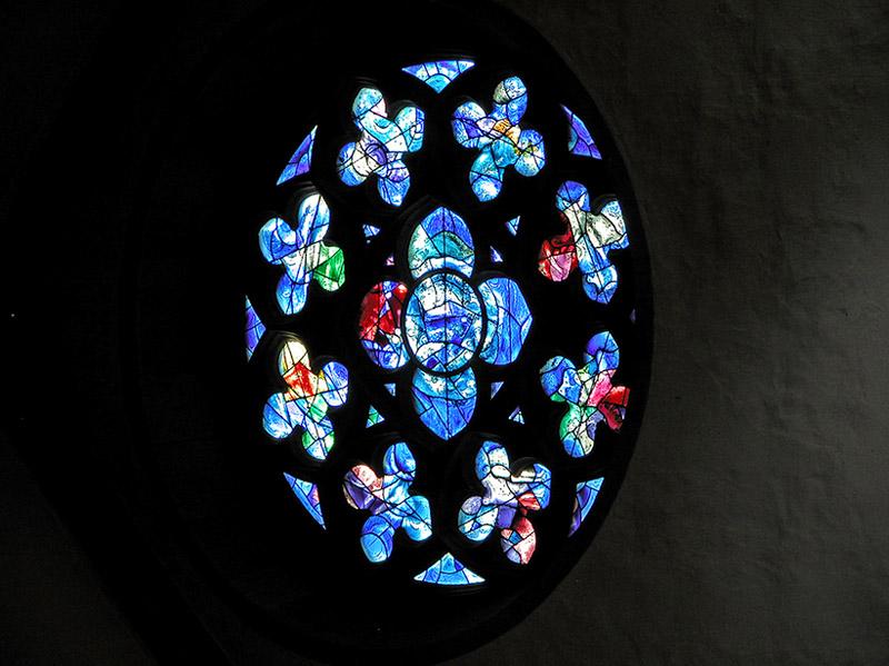 Chagall rose window