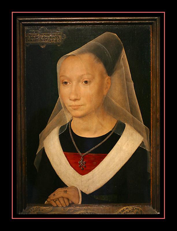 Portrait dune jeune femme (1480) par Hans MEMLING