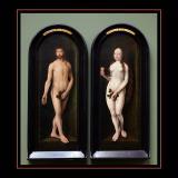 Adam et Eve (1455) par Joos VAN CLEVE