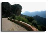 ...along narrow, winding roads...