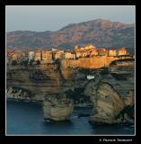 ...built on top of impressive limestone cliffs