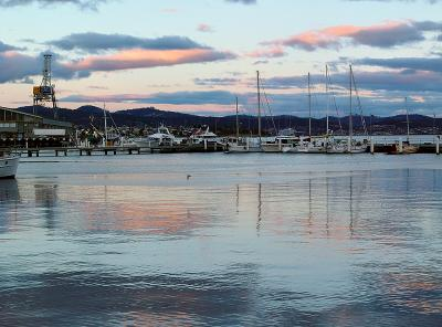 Tasmania: Hobart harbour