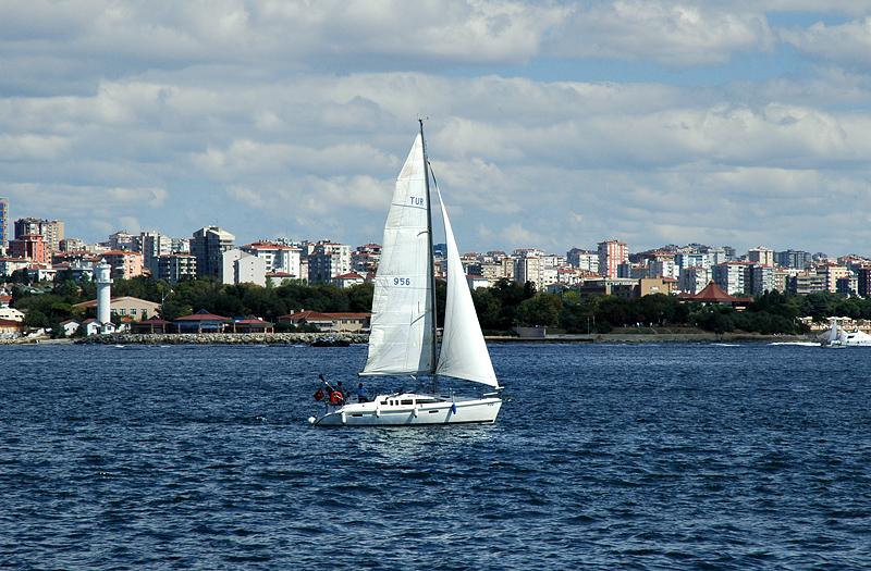 Sailing on the Sea of Marmara