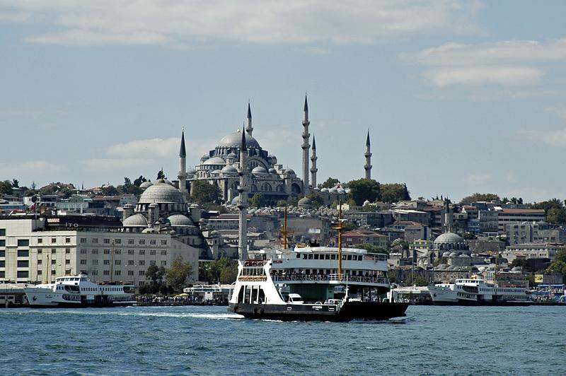 Süleymaniye from Eminönü