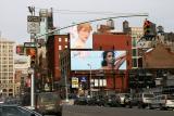 Signs at Lafayette & Bond Streets - Manhattan